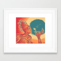 groot Framed Art Prints featuring groot by Catus