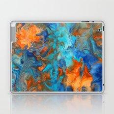 Orange and Teal Laptop & iPad Skin
