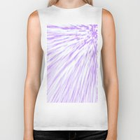 lavender Biker Tanks featuring Lavender. by Simply Chic