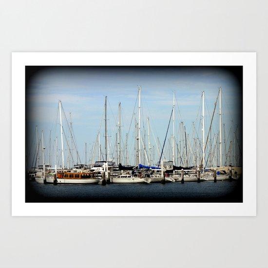 Armada  Art Print