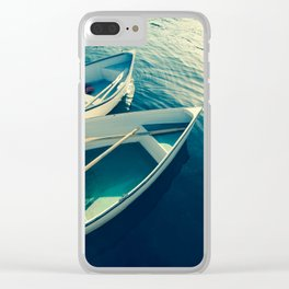 On the Water - Boats Clear iPhone Case