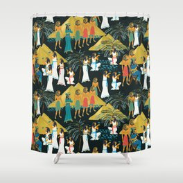 ancient Egypt Shower Curtain