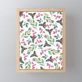 Holiday Spirit Framed Mini Art Print