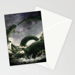Jormungandr the Midgard Serpent Stationery Cards
