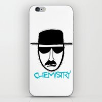 chemistry iPhone & iPod Skins featuring Chemistry by John Michael Gill