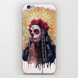 """""""Katrina"""" - Skull girl iPhone Skin"""