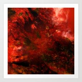 Dehiscence 7 Art Print