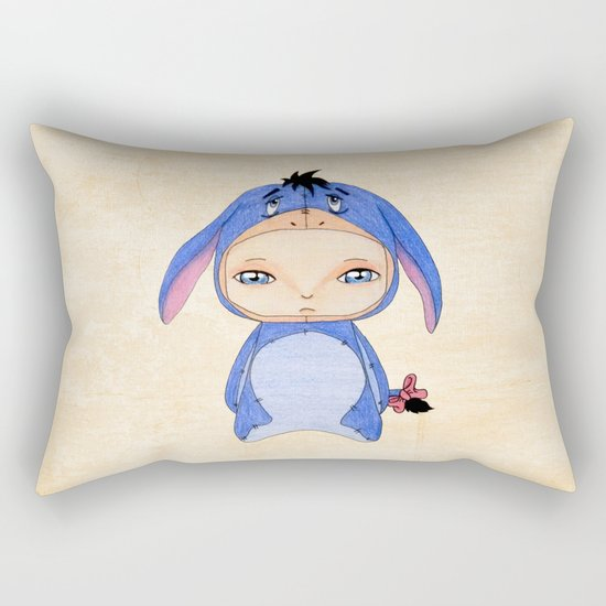 A Boy - Eeyore Rectangular Pillow