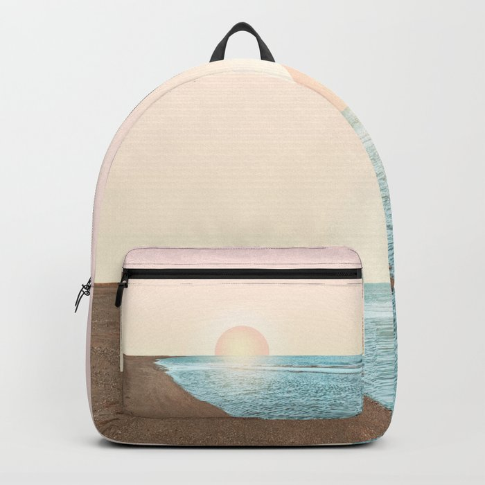 Untypical sunset Backpack