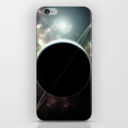 Ringed Planet Deep Space iPhone Skin