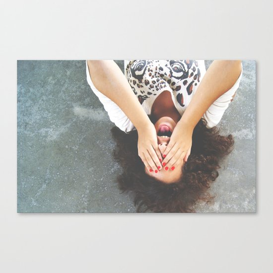 Drop your worries Canvas Print