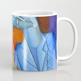 Blue Lovers Coffee Mug