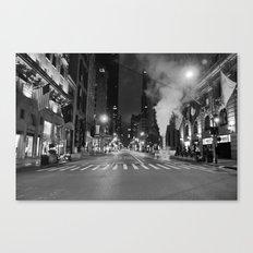 5th Ave Noir Part 3 Canvas Print