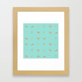 Shrimp Framed Art Print