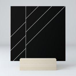 Black Space Mini Art Print