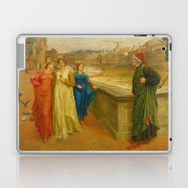 Henry Holiday - Dante And Beatrice Laptop & iPad Skin