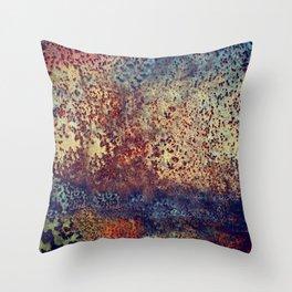 Rusty Salvage Throw Pillow
