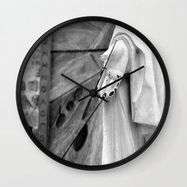 Statue Hand Wall Clock
