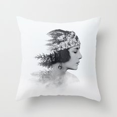 about today Throw Pillow