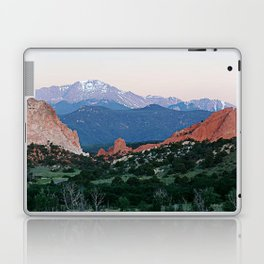 Sunrise at Garden of the Gods and Pikes Peak Laptop & iPad Skin