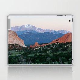 Sunrise at Garden of the Gods and Pikes Peak Laptop & iPad Skin