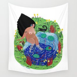 Little lake of happiness Wall Tapestry