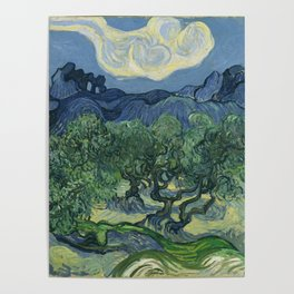 The Olive Trees Poster