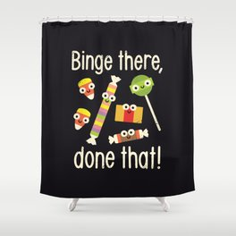 Half in the Bag Again Shower Curtain