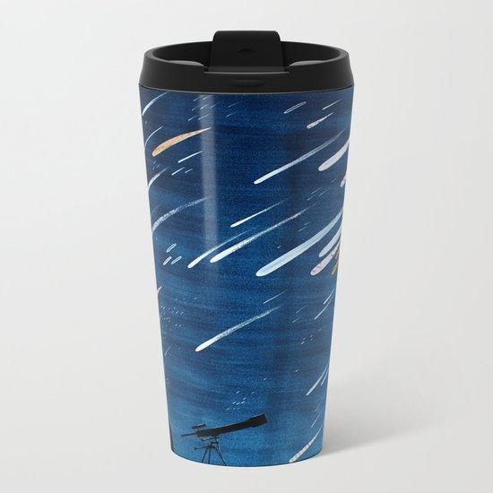Meteor Shower Metal Travel Mug
