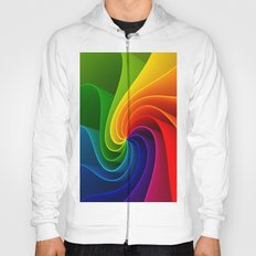 Colorful Spirals Hoody