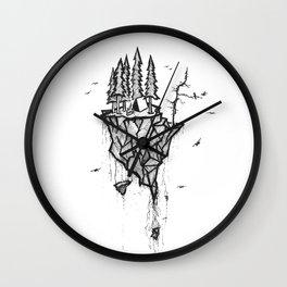 Floating Refuge Wall Clock
