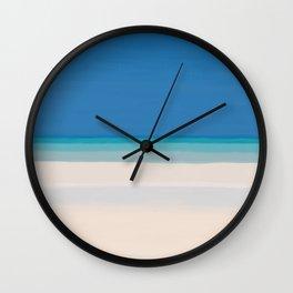 Dreamt Tropical Beach Design Wall Clock