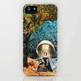 glow - collage iPhone Case