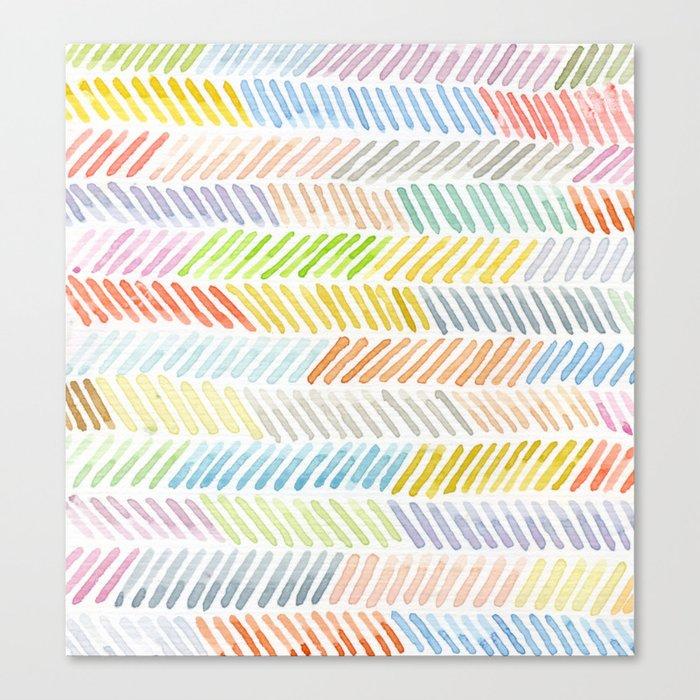 line Canvas Print