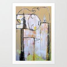 'challenge of nimrod ( immortalize thyself gods among man )'  Art Print