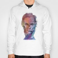lincoln Hoodies featuring Zombie Lincoln by Albert F. Montoya