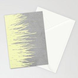 Concrete Fringe Yellow Stationery Cards