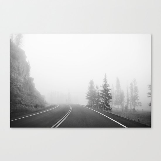MORNING FOG Canvas Print