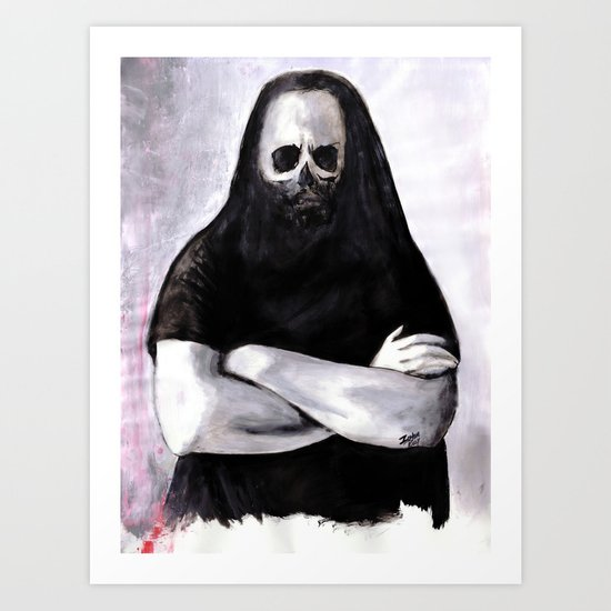 As If That Blind Rage Had Washed Me Clean Art Print