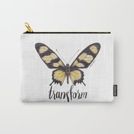 Butterfly Painting | Hahnel's Amazonian Swallowtail | PARIDES HAHNELI | Nature | Animal Art Carry-All Pouch