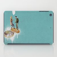 sale iPad Cases featuring Danse Sale | Collage by Julien Ulvoas