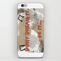 rocky horror iPhone & iPod Skins featuring Rocky Horror - Don't Dream It... by Mel (life_like_disney)