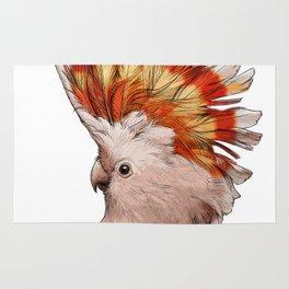 Pink Cockatoo Rug
