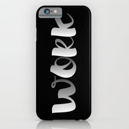 Work 1 iPhone Case