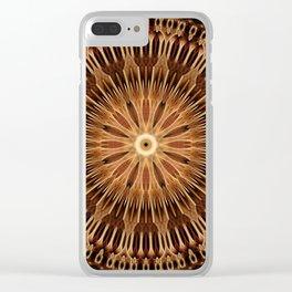 Earthen Door Mandala Clear iPhone Case