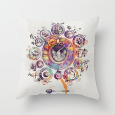 Who's Up for Tea? Throw Pillow