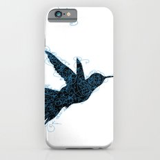 Bird Fly No. 1 (Black/Aqua) Slim Case iPhone 6s