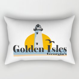 Golden Isles - Georgia. Rectangular Pillow