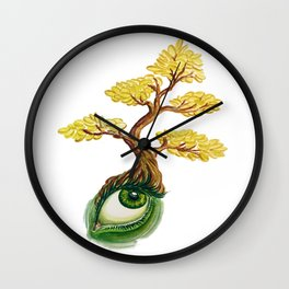 money tree: invision wealth Wall Clock