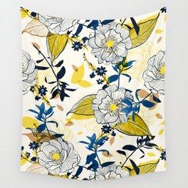Flowers patten1 Wall Tapestry